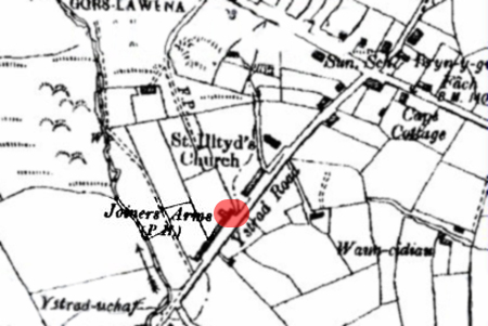 Joiners Arms OS map 1901