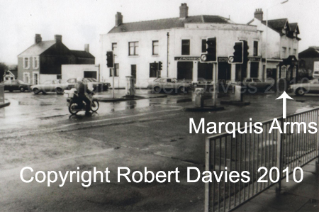 Marquis Arms and corner pre - road widening